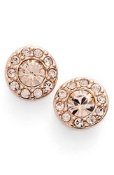 Women's Givenchy Small Crystal Stud Earrings