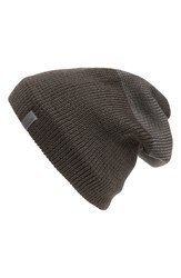 Arcteryx 'Castlegar Toque' Long Wool Blend Beanie With Fleece Earband Carbon Copy
