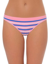 Design Lab Lord And Taylor Yarn Dyed Striped Thong Panty Multi Stripe