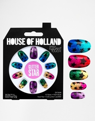 Eylure House Of Holland Nails By Elegant Touch Glitter Stars Glitterstars