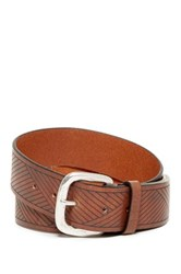 Tommy Bahama Ebb Tide Leather Belt Beige