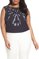 Nic Zoe Plus Size Women's Secret Garden Sleeveless Top