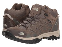 The North Face Storm Iii Mid Wp Weimaraner Brown Shroom Brown Hiking Boots