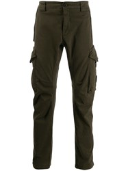 C.P. Company Cp Tapered Cargo Trousers Green