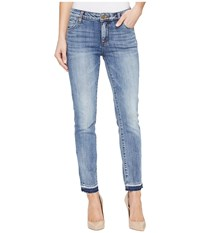 Kut From The Kloth Reese Ankle Straight Leg In Motive Motive Women's Jeans Blue