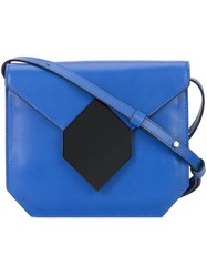 Pierre Hardy Prism Crossbody Bag Blue
