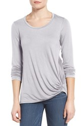 Gibson Women's Knotted Long Sleeve Tee
