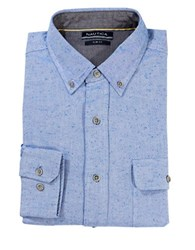 Nautica Slim Fit Double Pocket Sportshirt Blue
