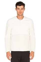 Adidas By Wings Horns Sherpa Jacket White