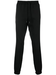 Saint Laurent Drawstring Fitted Trousers Black