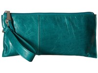 Hobo Vida Teal Green Clutch Handbags