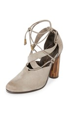 Free People Nouvella Wrap Pumps Taupe