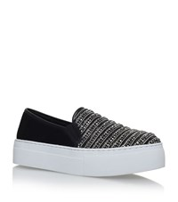 Kg By Kurt Geiger Latina Flatform Skate Sneakers Female Black