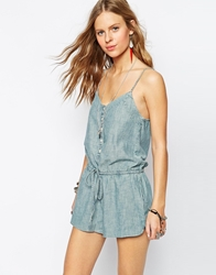 Denim And Supply Ralph Lauren Denim And Supply By Ralph Lauren Playsuit Wornwash