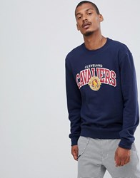 Mitchell And Ness Cleveland Cavaliers Sweat In Navy