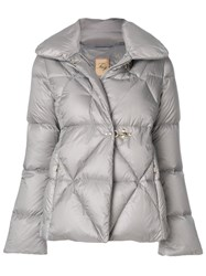 Fay Puffer Jacket Feather Down Polyamide M Grey