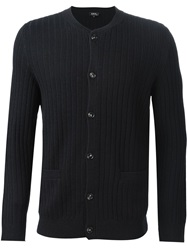 A.P.C. Ribbed Cardigan Blue