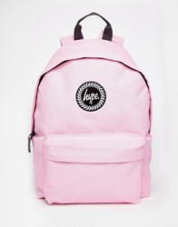 Hype Backpack In Pastel Pink Classicpink