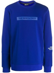 The North Face Classic Brand Sweater Blue