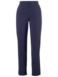 Chesca Slim Fit Stretch Trousers Navy