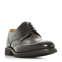 Loake Sirus Lightweight Brogue Shoes Black
