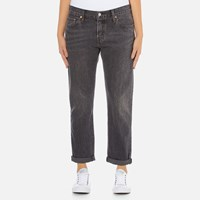 Levi's Women's 501 Ct Tapered Fit Jeans Fading Coal