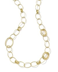 Glamazon 18K Gold Bastille Long Necklace Ippolita Red