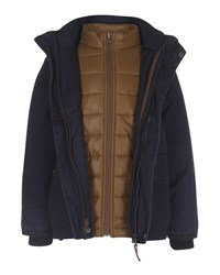 Molo 3 In 1 Zip Front Jacket Navy