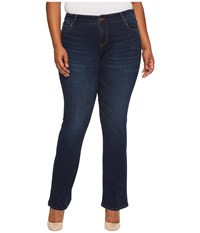 Kut From The Kloth Plus Size Natalie High Rise Bootcut In Closeness Euro Base Wash Closeness Euro Base Wash Women's Jeans Blue
