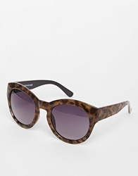 Warehouse 50'S Glam Sunglasses Tort