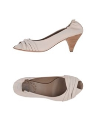 Lilimill Pumps With Open Toe White