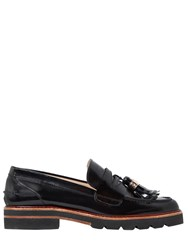 Stuart Weitzman 20Mm Manila Brushed Leather Loafers