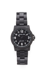 Michael Kors Paxton Stainless Watch Black Black