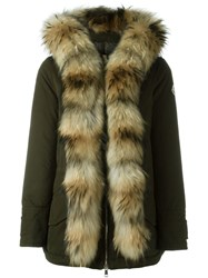Moncler 'Glaphira' Coat Green