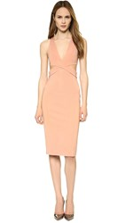Dion Lee Belted Symmetry Dress Tan