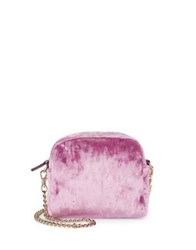 Design Lab Lord And Taylor Textured Crossbody Bag Champagne