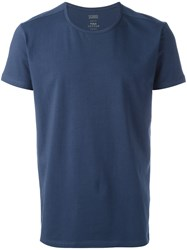 Closed Crew Neck T Shirt Blue