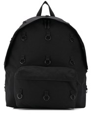 Raf Simons Padded Loop Backpack Black