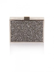 Chi Chi London Imani Clutch Bag Grey