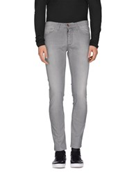 Individual Denim Denim Trousers Men Grey