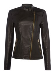Episode Pu Biker Jacket Black