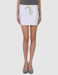 S.O.S By Orza Studio Mini Skirts White