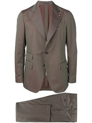 Gabriele Pasini Two Piece Formal Suit Grey