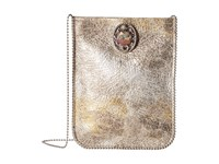 Leather Rock Ce09 Silver Gold Cross Body Handbags