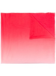 Snobby Sheep Cashmere Ombre Scarf Red
