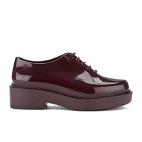 Melissa Women's Grunge Chunky Lace Up Shoes Plum