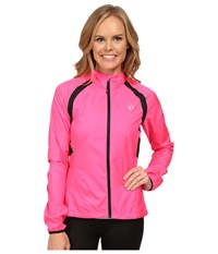 Pearl Izumi W Elite Barrier Cycling Jacket Screaming Pink Women's Workout