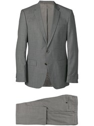 Hugo Boss Slim Fit Two Piece Suit Grey