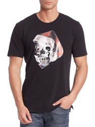 Robert Graham Skull Graphic Print Tee Black
