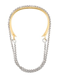 Charlotte Chesnais Briska Necklace Sterling Silver Metallic